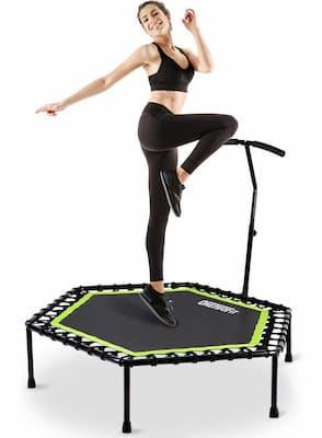 cama elástica fitness beneficios