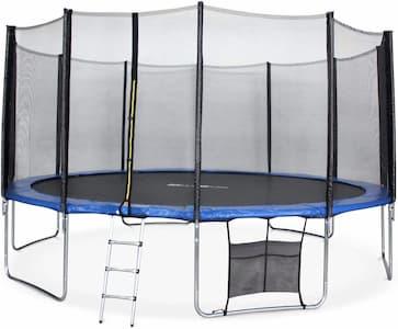 cama elastica niños alice's garden